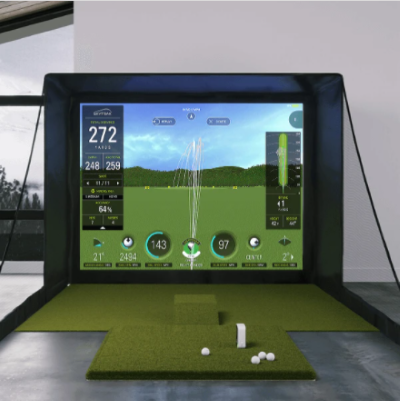 Golf Simulators for at Home - Sky Trak Golf Simulator