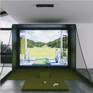 Golf Simulators for at Home - Uneekor QED SIG10 Golf Simulator